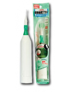 Hapica interbrush - звуковая электрическая зубная щетка для ухода за брекетами