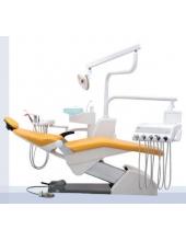 Стоматологическая установка Fona 1000 C Flex, н/п,нижняя подача, пистолет, 3 шланга без оптики, 1 свободн гнездо, непрограммируемое кресло, педаль-таблетка