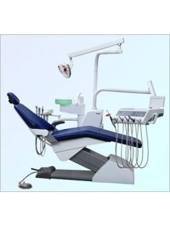 Стоматологическая установка Fona 1000 S, нижняя подача, пистолет, 3 шланга без оптики, 1 свободное гнездо, педаль-таблетка