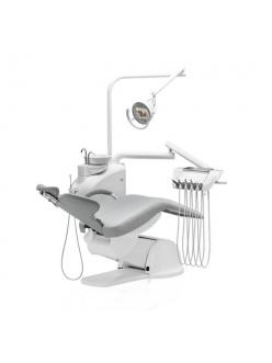 Diplomat Consul DC180 - стоматологическая установка с нижней подачей инструментов и креслом ДЕ20