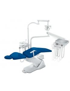 Стоматологическая установка Синкрус Элит 1, нижняя подача, пистолет, 2 воздушных шланга, 1 подлокотник, нет панели управления у врача