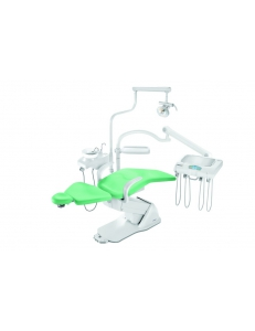 Стоматологическая установка Синкрус Элит 2, нижняя подача, пистолет, 3 воздушных шланга , 2 подлокотника