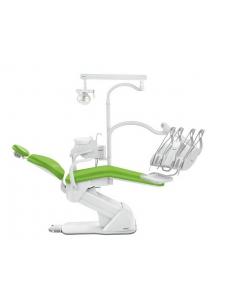 Стоматологическая установка Синкрус Элит 3, верхняя подача, пистолет, 3 воздушных шланга, 2 подлокотника