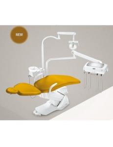 Стоматологическая установка Синкрус Элит 5, верхняя подача, пистолет, 2 шланга без подсветки, 1 шланг с подсветкой, 2 подлокотника