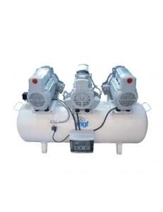 200/75 TANDEM PRIME S - безмасляный компрессор без осушителя, 200 л, 750 л/мин
