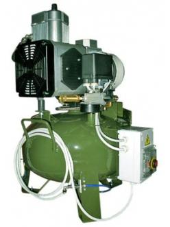 Cattani 24-67 - безмасляный компрессор, c осушителем, без кожуха, 67,5 л/мин, ресивер 24 л