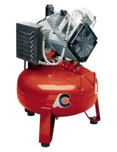 Cattani 50-160 - безмасляный компрессор, c осушителем, без кожуха, 160 л/мин, ресивер 50 л