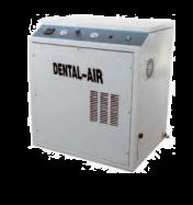Dental Air 1 - безмасляный воздушный компрессор с кожухом (100 л/мин) на 1 установку