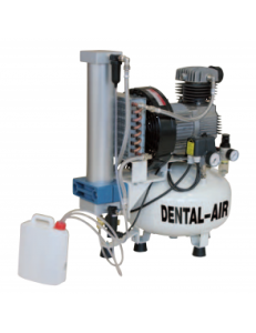 Dental Air 2/24/57 - безмасляный воздушный компрессор с осушителем, без кожуха (150 л/мин) на 2 установки