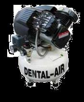 Dental Air 3/24/5 - безмасляный воздушный компрессор без кожуха (200 л/мин) на 3 установки