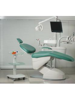 Darta SDS 3500 A - комплект оборудования рабочего места врача-стоматолога (комплектация 3500 A, с нижней подачей инструментов), с осветителем Alya