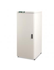 EKOM DUO - компрессор с ресивером и отсасывателем в двухразделенном шкафу, 25 л