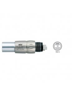 """PTL-CL-4HV-T - быстросъемный переходник с оптикой, с клапаном """"Анти-СПИД"""", титановый корпус"""
