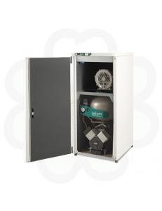 DUO 2V - 2–цилиндр. безмасляный компрессор, вакуумная помпа, с кожухом (120 л/мин)
