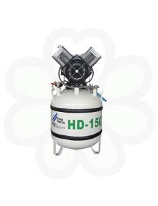 DUO - компрессор двухагрегатный безмасляный c осушителем (120 л/мин)
