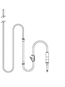 554/43 - ирригационная трубка