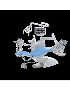 S200 - стоматологическая установка с верхней подачей инструментов, цвет 102 Atlantic blue