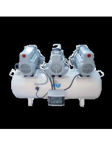200/75 TANDEM PRIME SCE - безмасляный компрессор с осушителем, 200 л, 660 л/мин