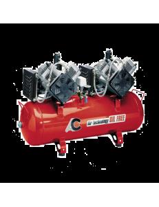 Cattani 150-480 - безмасляный компрессор, c осушителем, без кожуха, 480 л/мин, ресивер 150 л