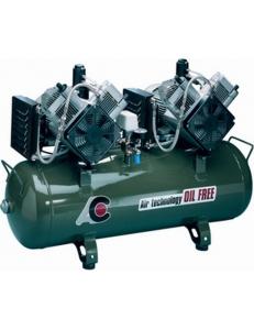 Cattani 100-320-С - безмасляный компрессор, c осушителем, c кожухом, 320 л/мин, ресивер 100 л