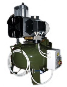 Cattani 75-240 - безмасляный компрессор, c осушителем, без кожуха, 240 л/мин, ресивер 75 л