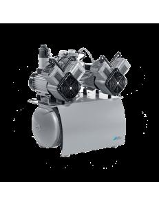 DUO Tandem - двухагрегатный безмасляный компрессор (240 л/мин)