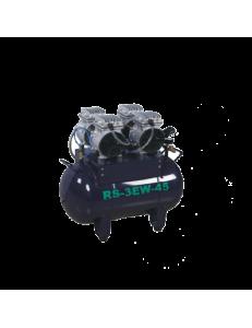 RS3 EW45 - безмасляный компрессор на две стоматологических установки (140 л/мин, 45 л)